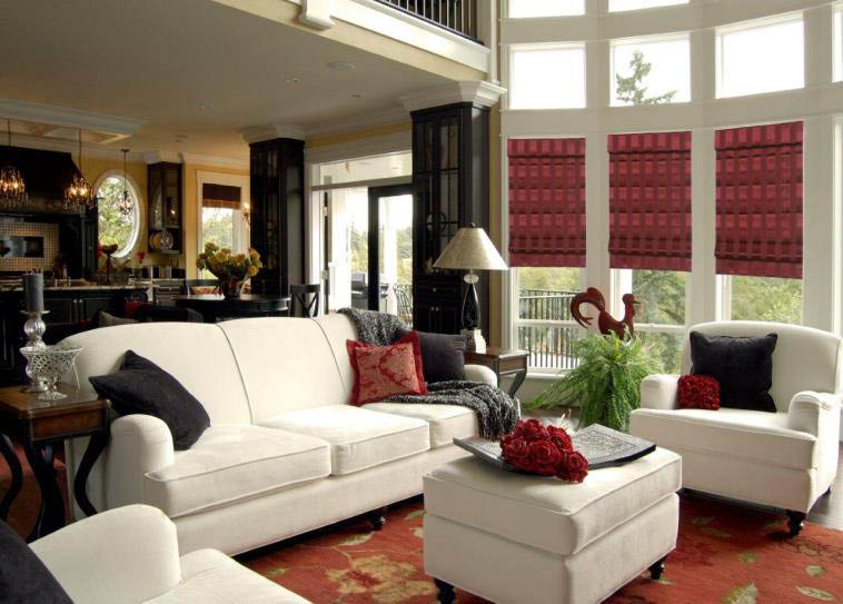 Budget Blinds window shades are an elegant way to cover your windows in San Diego