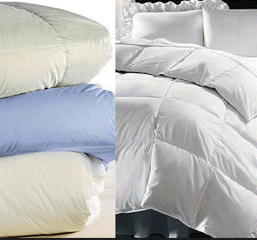 Comforters and Bedding dry cleaned at 2.99 Cleaners & Gill's Cleaners in Canton, MI