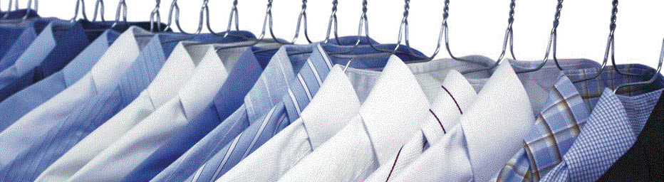 Dry cleaned dress shirts at $2.99 Cleaner and Gill's Cleaners in Canton, MI