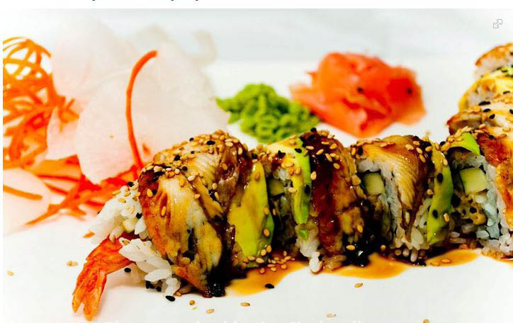 Rainbow Sushi Roll in San Jose, CA