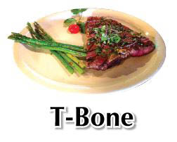 Delicious T-Bone steak on the El Matador Bar & Grill menu