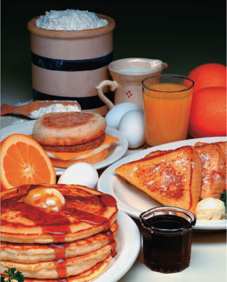 Maxfield's Pancake House in Fox Point has a huge breakfast menu.
