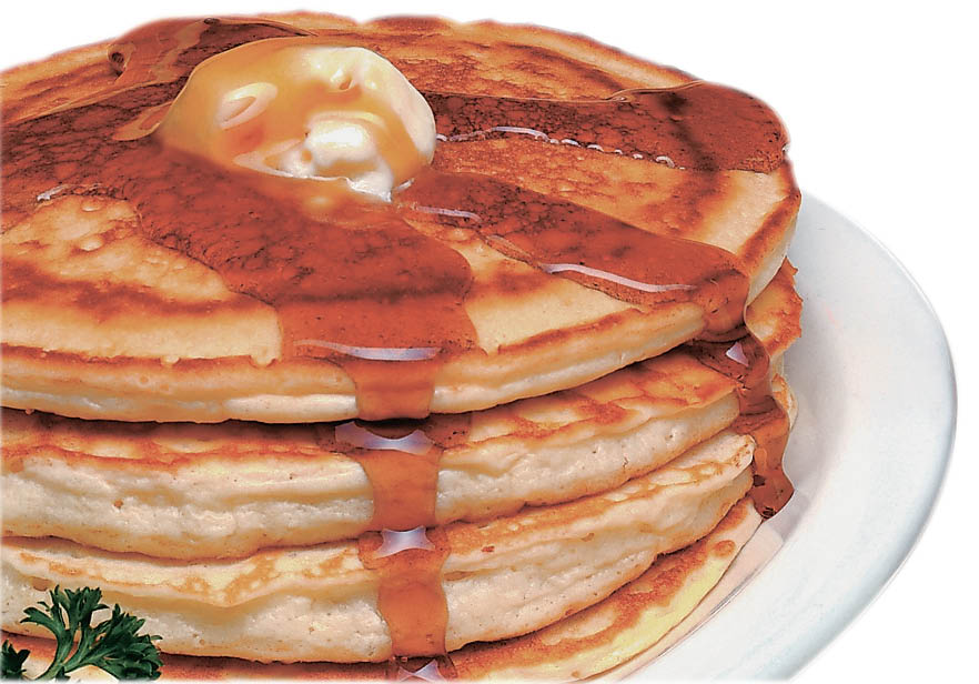 photo of stack of pancakes from Biscuits & Gravy in Canton, MI