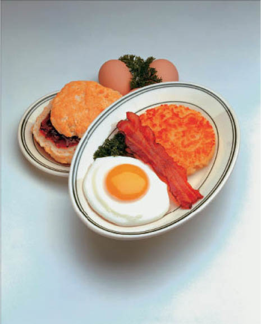 Randall's Restaurant Breakfast Plate