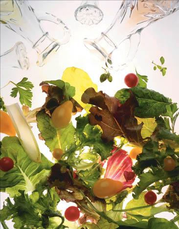 Ameci Pizza Kitchen serves homemade cold, crispy green salads