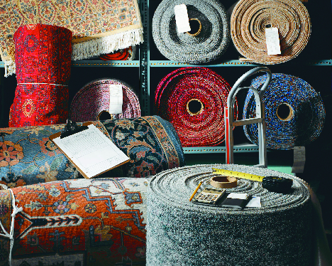 Carpet Rolls for Gerry's Carpet Milwaukee, WI