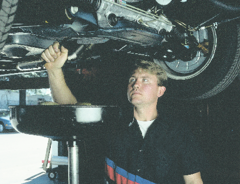 mechanic at south side tire & auto