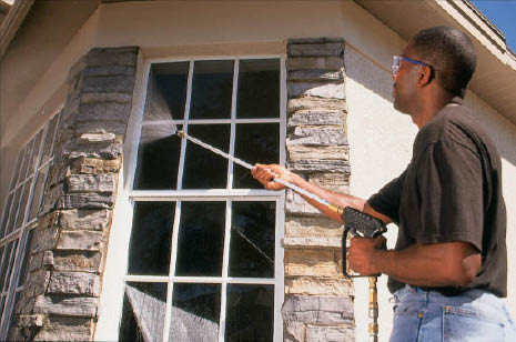 North Shore Windows and Gutters window cleaning in Riverwoods, IL