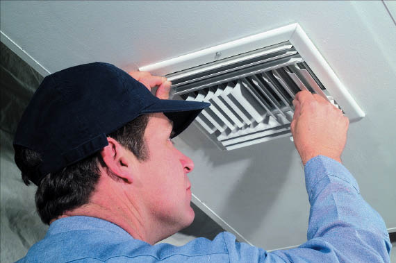 Our professional air conditioning technicians perform ventilation checks
