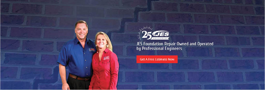 JES Foundation Repair in Maryland banner