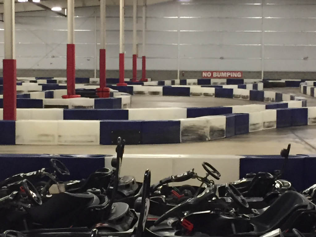 The Only Indoor Karting Track in Southern Oregon