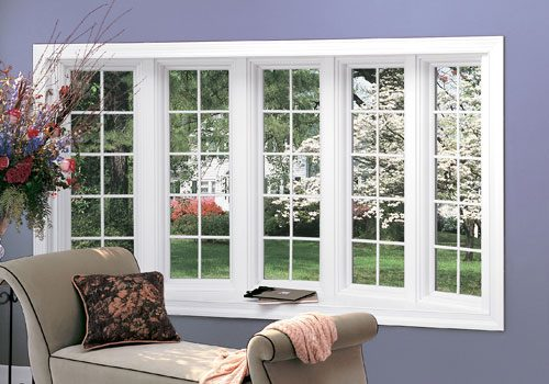 Renewal by Andersen French custom-designed bay windows give added individuality