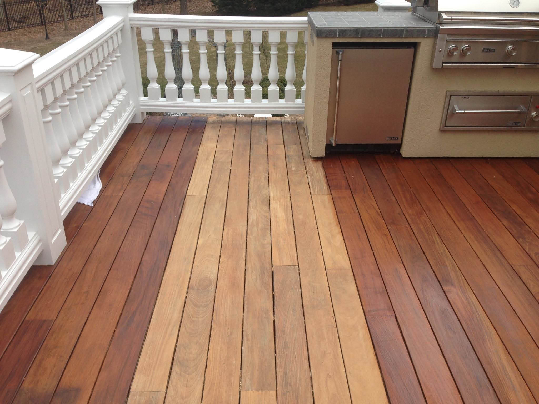 Deck Cleaning & Sealing from Burrini's Power Washing in Randolph NJ