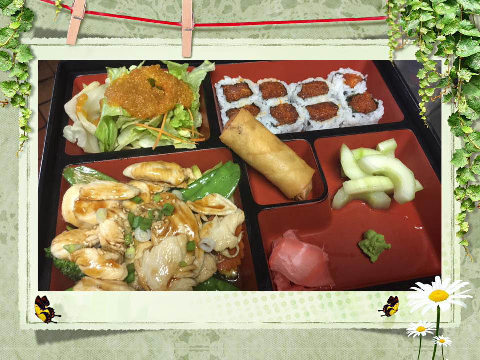 Sake Happy Hour half off drinks Appetizer specials Makimono rolls Chef's Specials