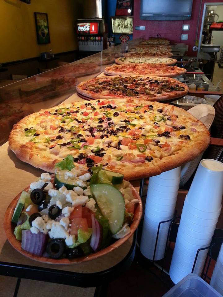 Pizza by the slice specialty pizza catering menu