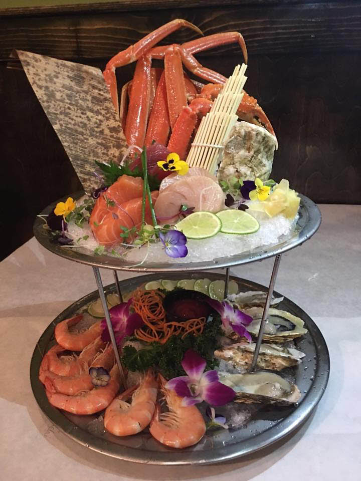 cajun, creole, seafood, sushi, lounge, restaurant; arlington, va