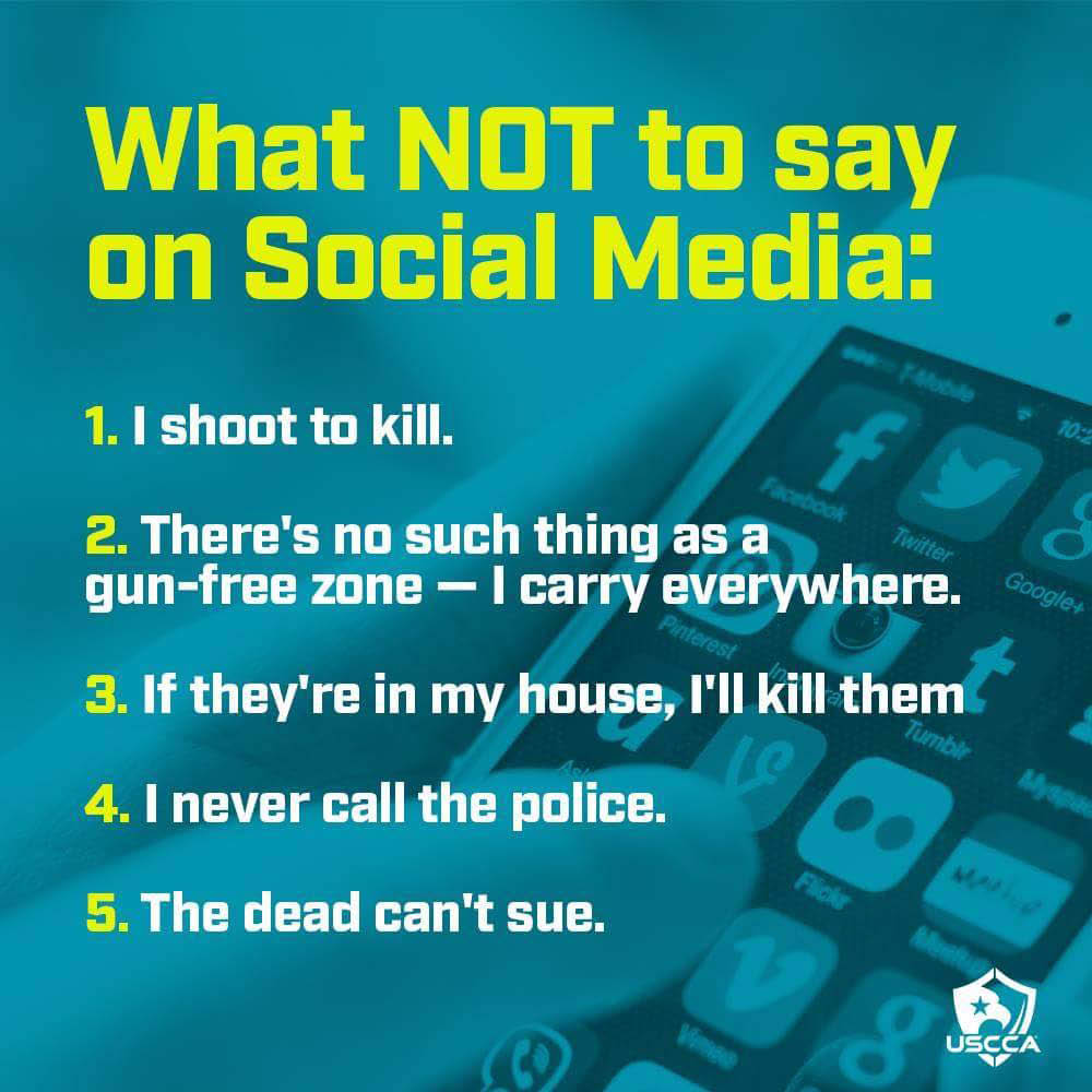 Learn what not to say on social media