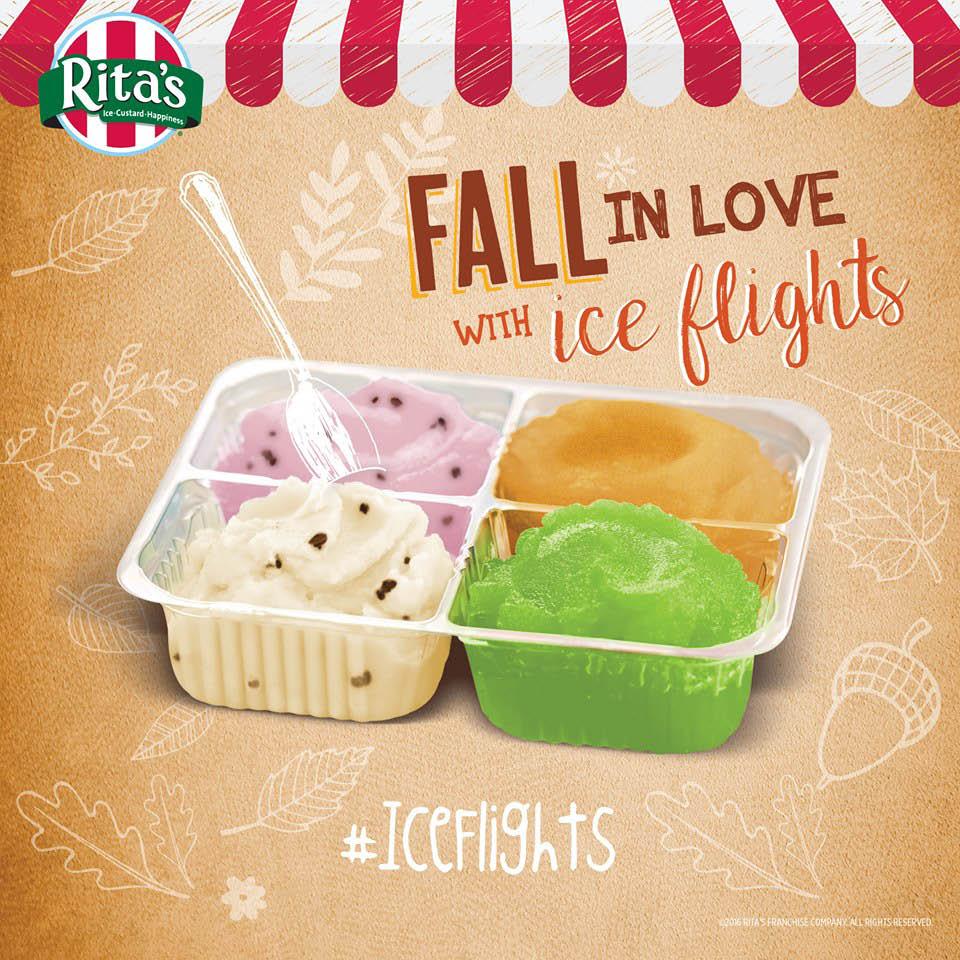 Rita's, Italian Ice, Custard, Frozen Custard, Ice Cream, Dessert