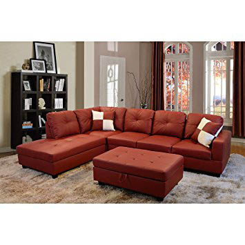3 Pc Sectional including Ottoman