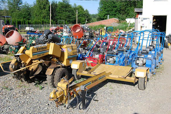 Every kind of equipment a homeowner or contractor needs at 410 Rentals in Buckley, WA