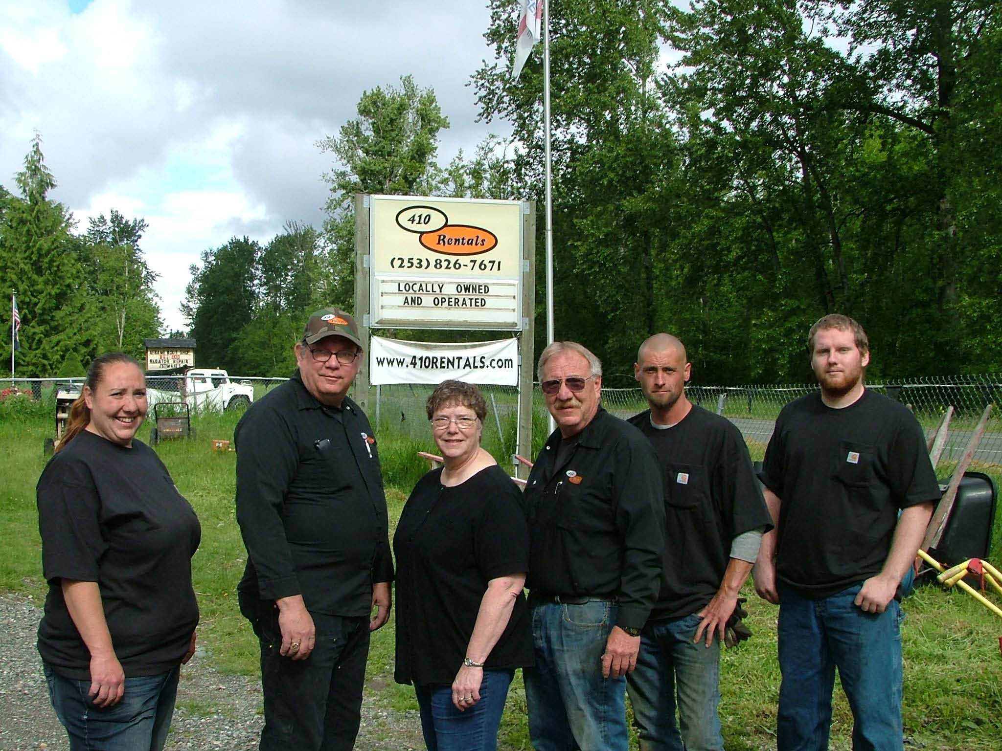 410 Rentals - Buckley, WA - owners and staff