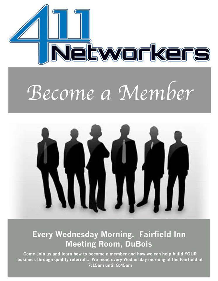 411 networkers membership advertisement