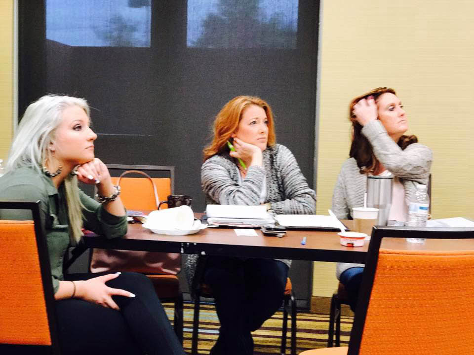business women at a DuBois, PA networking event