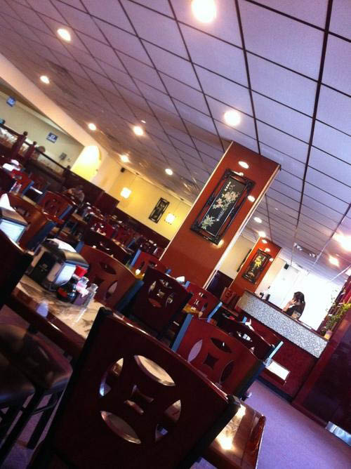 dining area at Golden Buffet in Benbrook, TX