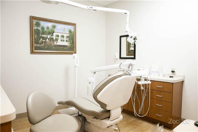 exam room at dentistry implants & orthodontics in arlington, tx
