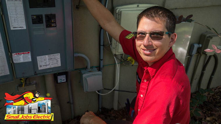 tampa electrician small jobs electric