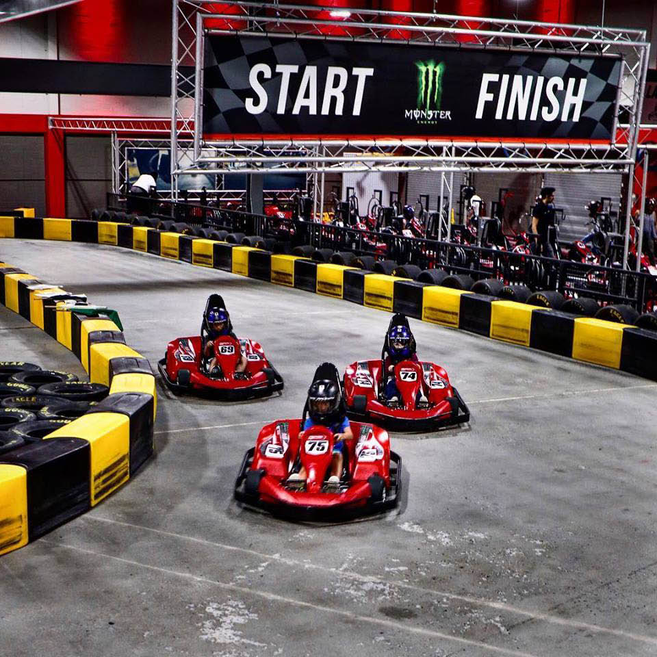 RPM raceway with state of the art go-karts
