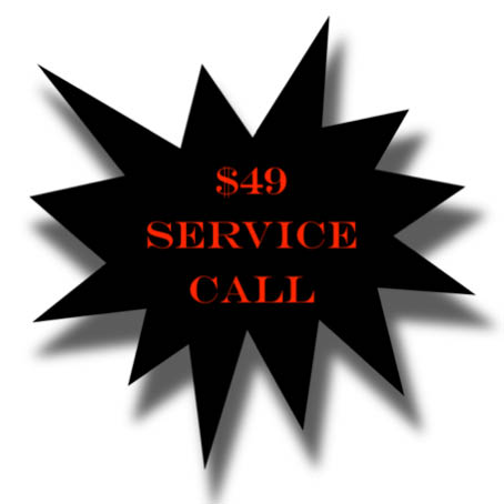 Cheapest Service Call in Cache Valley!