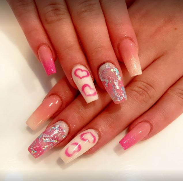 We have a variety of products when it comes to artificial nails from different colored powder for long lasting nails to different kind of nail shape.