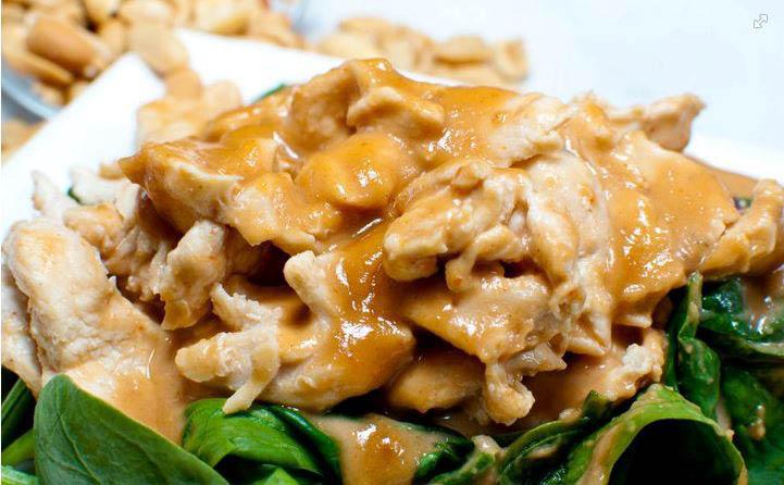 Blue Mango Thai Food Curry Chicken