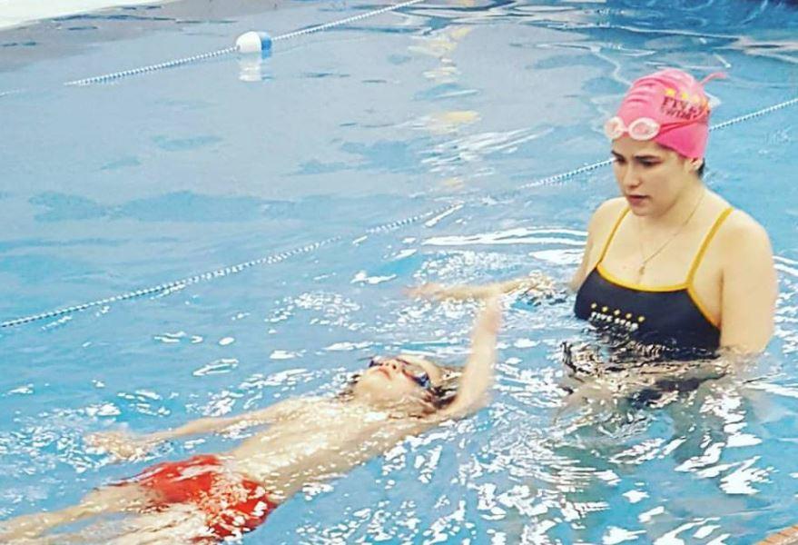swim lessons, parties, school