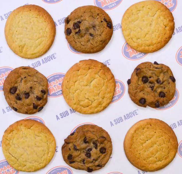 Jersey Mike's cookies - a crowd-pleaser and the best way to cater your next party