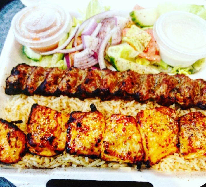 cheesesteak, kabob, food truck, catering, delivery; chantlly, va