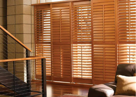 Get shutters and other window treatments in Beverly Hills