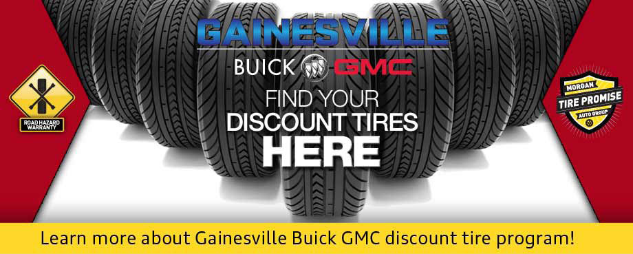 GAINESVILLE BUICK AND GMC, TIRES FOR SALE PHOTO