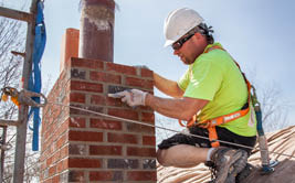 Chimney repair services by Hansen & Sons in Madison, WI