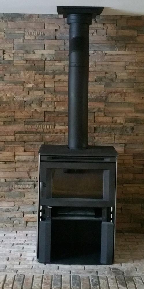 Freestanding stove installation
