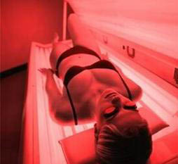 Try our red light beauty treatment at California Tan