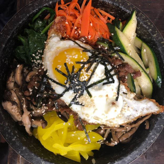 lunch, dinner, Korean, classic, dishes, quality, ingredients, catering, bibimbap