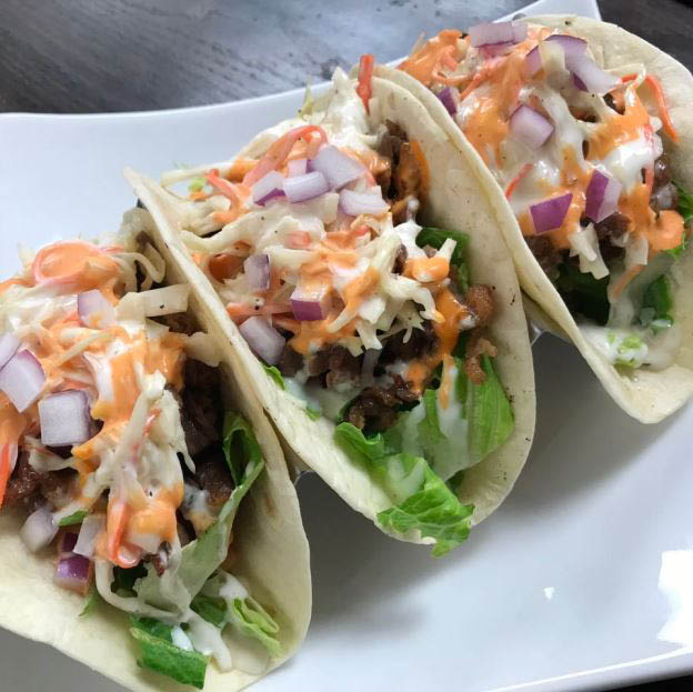 lunch, dinner, Korean, classic, dishes, quality, ingredients, catering, tacos