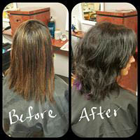 men & woman color, highlighting, perms, up-do's, men, women & kids cuts, facial waxing, manicures & pedicures.