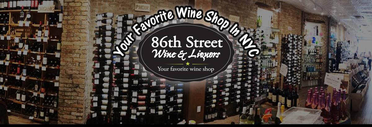 86th Street Wine & Liquors in the Upper East Side Banner ad