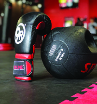 kickboxing heartrate training workout gym