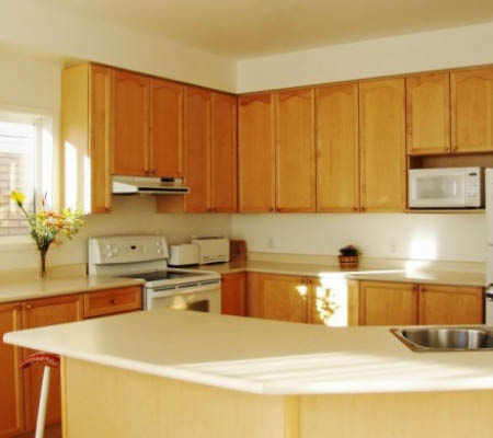 complement your kitchen's granite countertop with custom cabinet refinishing near Rohnert Park