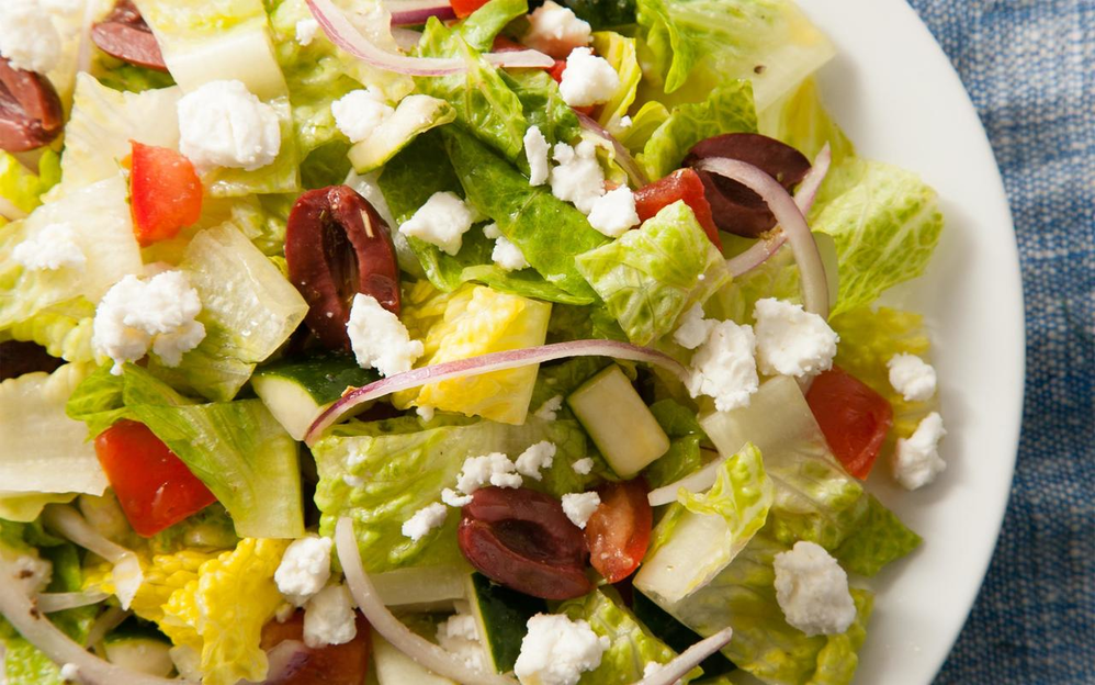 Everett pizza restaurants near me - A Pizza House - Everett, Washington - Greek salad - fresh salad - garden salad - Caesar salad