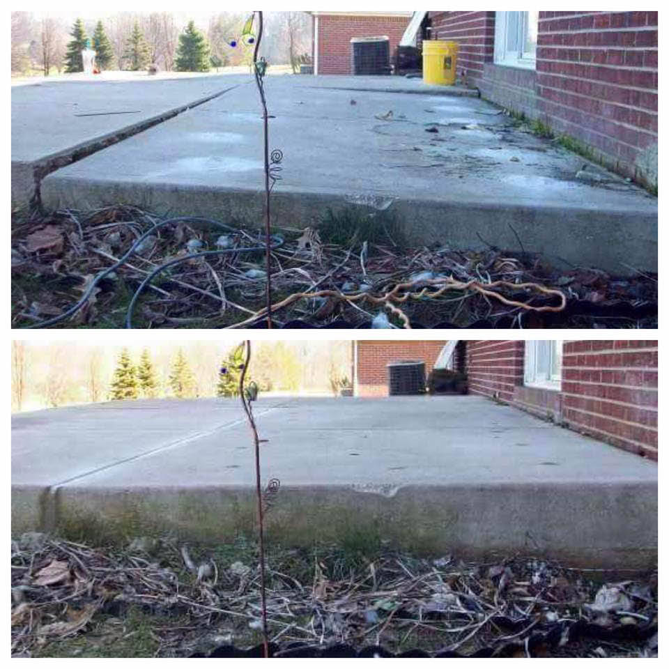 uneven, level, replacement, certified, steps, stairs, walkways, patented concrete steps leveling, lift process